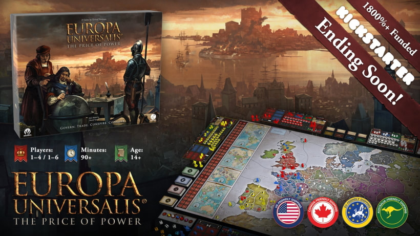 Europa Universalis: The Price of Power by Aegir Games
