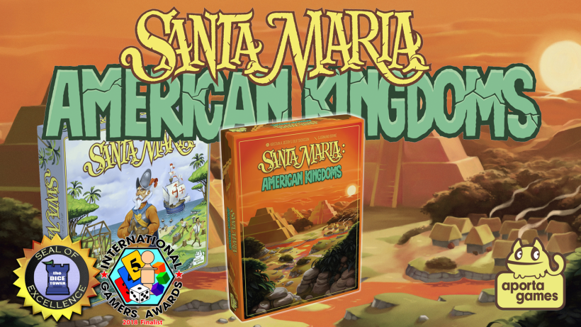 Santa Maria: American Kingdoms by Aporta Games