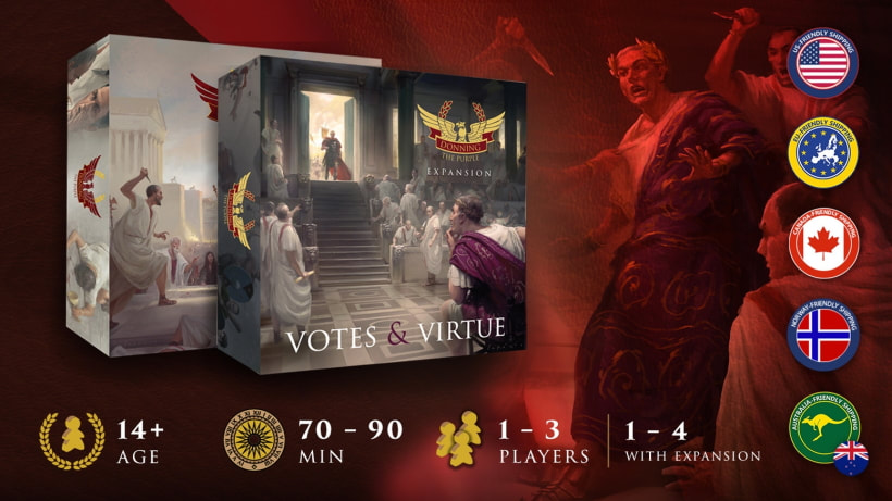 Donning the Purple: Votes and Virtue by Tompet Games
